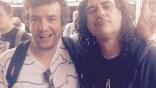 Brille head honcho Leo Silverman and Jon Sidel