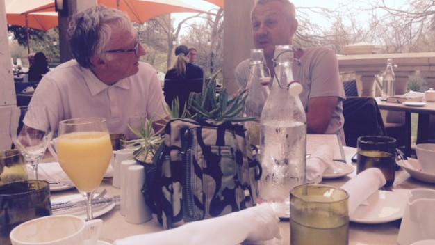 Francois Moret & Jeff Barrett